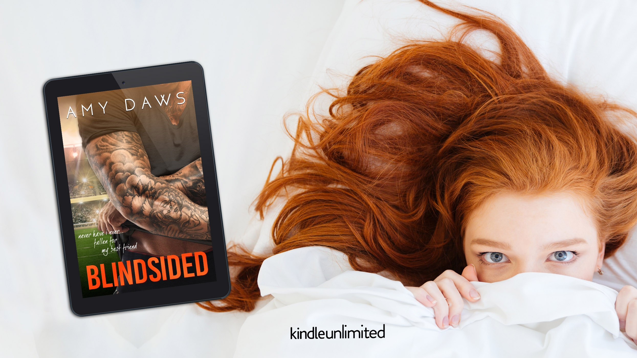 Red head fb ad with cover